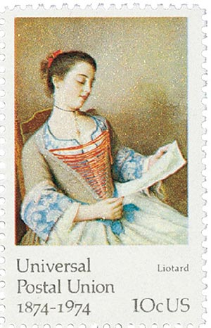 1974 10c Famous Works of Art: Liotard