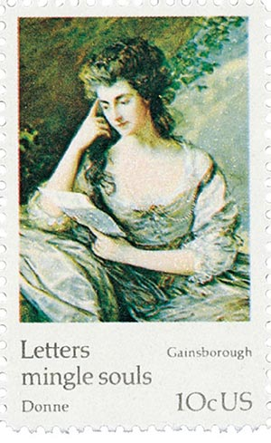 1974 10c Famous Works of Art: Gainsborough