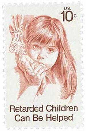 1974 10c Retarded Children