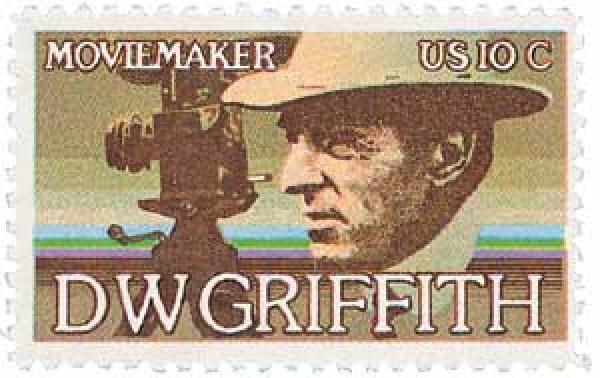 1975 10c David W. Griffith