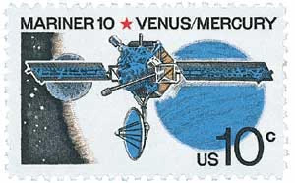 1975 10c Mariner 10