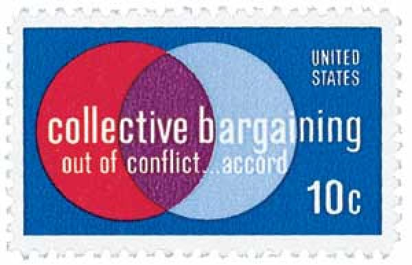 1975 10c Collective Bargaining