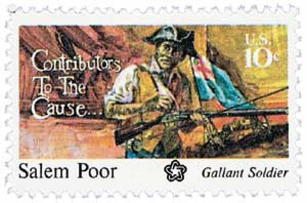 1975 10c Salem Poor