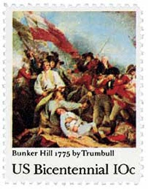 1975 10c Bunker Hill Battle