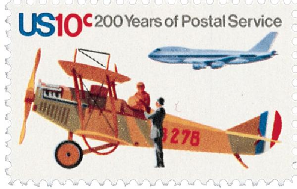 1975 US Postal Services Bicent 10c