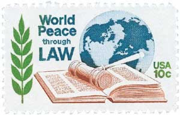 1975 10c World Peace through Law