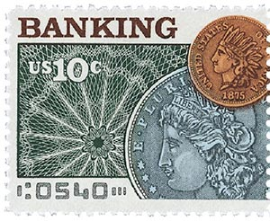 1975 Banking & Commerce 10c
