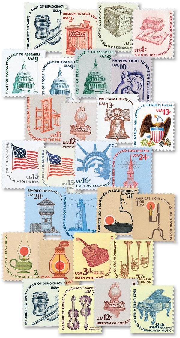 Complete Set, 1975-81 Americana Series