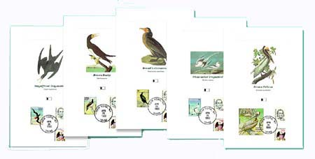 1993 Audubon Proofcards & Title Card Set