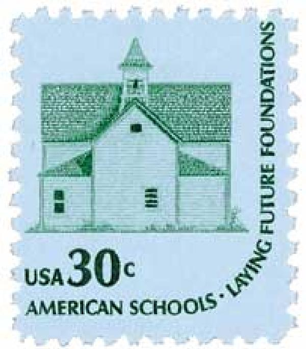 1979 School House stamp