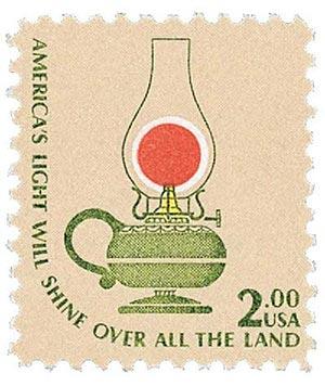 1978 $2 Americana Series: Kerosene Lamp