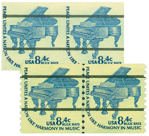 1978 8.4 Grand Piano imperf with free normal