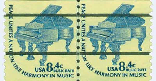 1978 8.4c Grand Piano, coil precancel