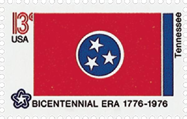 1976 13c State Flags: Tennessee
