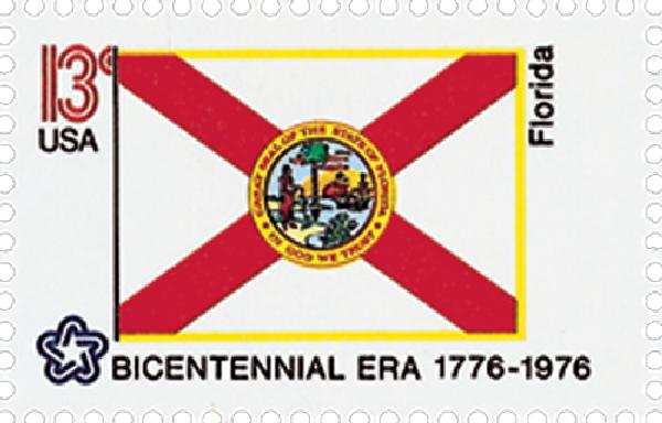 1976 13c State Flags: Florida