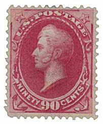 1873 90c Perry, rose carmine
