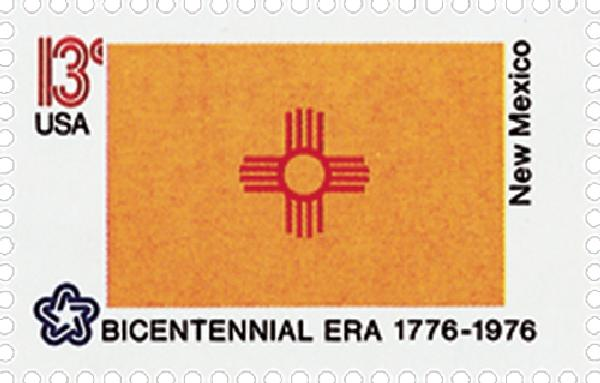 1976 13c State Flags: New Mexico