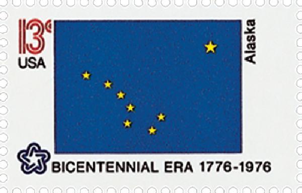 1976 13c State Flags: Alaska