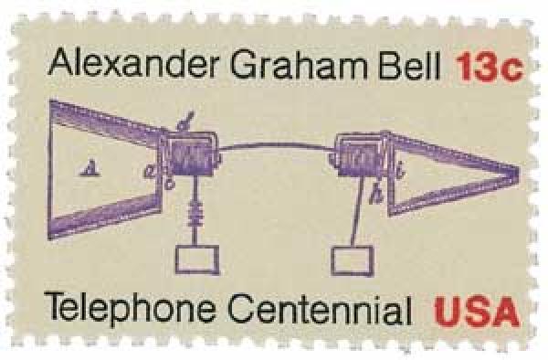 1976 13c Telephone Centennial