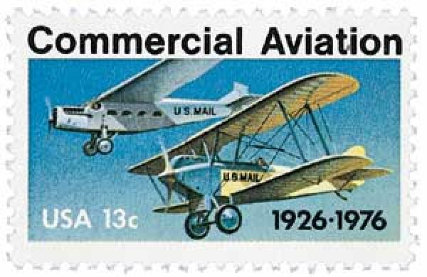 1976 13c Commercial Aviation