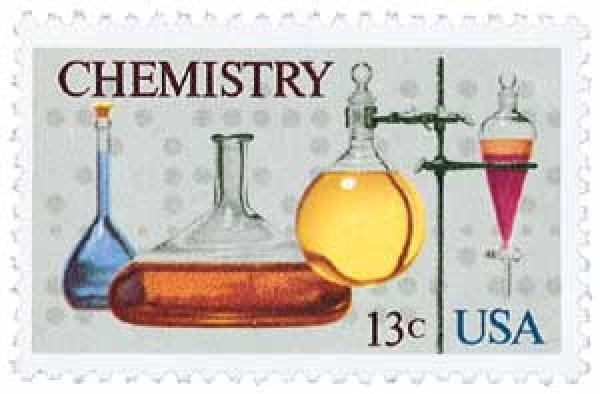 1976 13c Chemistry Centenary