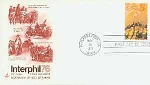 1976 13c Trumbull, Cobb, Steuben, etc