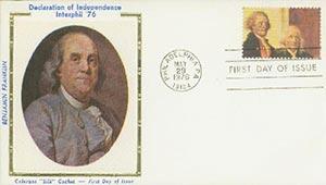 1976 18c Jefferson, Franklin