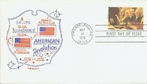 1976 18c American Bicentennial