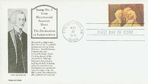 1976 18c Read, Dickinson, Rutledge