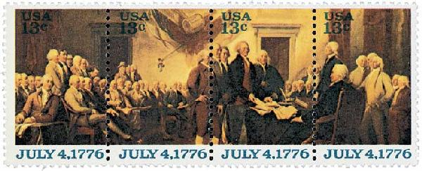 1976 13c Declaration of Independence