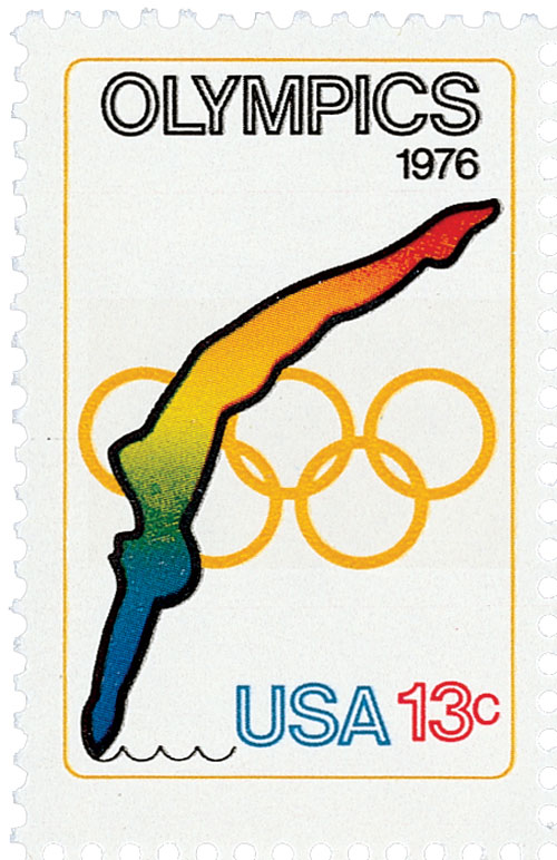 1976 13c Olympic Games: Diving