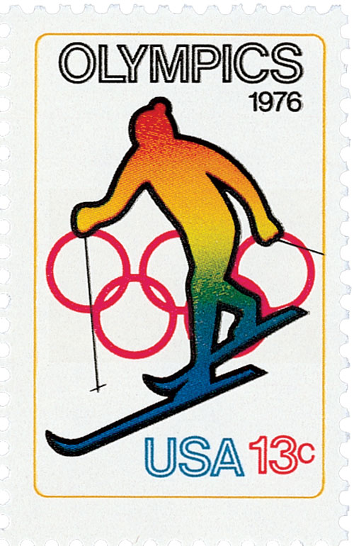 1976 13c Olympic Games: Skiing