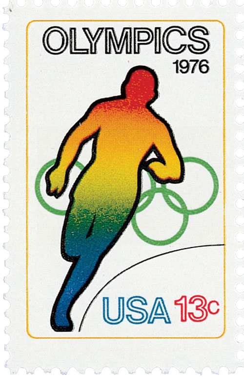 1976 13c Olympic Games: Running