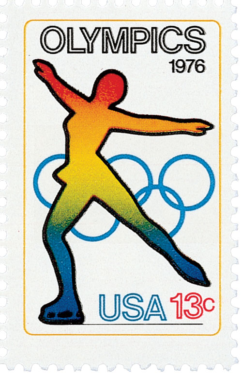 1976 13c Olympic Games: Skating