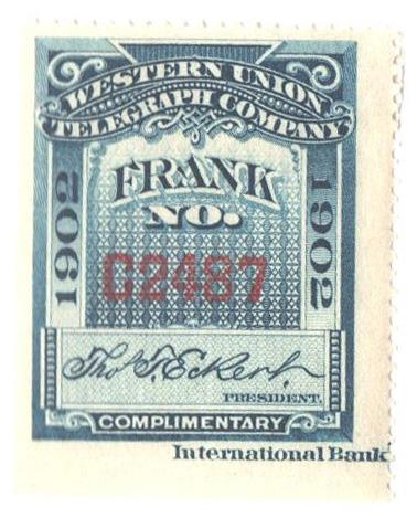 """1902 blue, """"Eckert"""""""