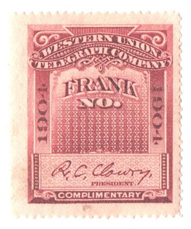 "1904 red violet, perf 14, ""Clowry"""