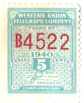 1940 5c light blue,perf 12,12.5, White