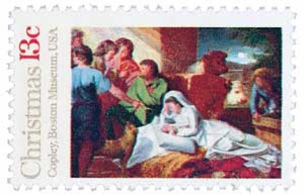 1976 13c Christmas Nativity