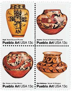 1977 13c Pueblo Pottery