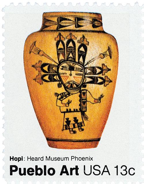 1977 13c Pueblo Pottery: Hopl