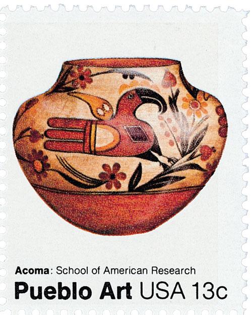 1977 13c Pueblo Pottery: Acoma