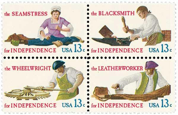 1977 13c Skilled Hands for Independence