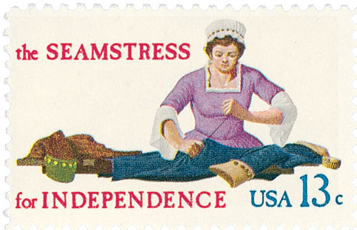 1977 13c Skilled Hands for Independence: Seamstress