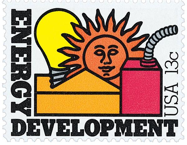 1977 13c Nations Energy: Development