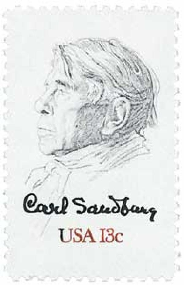 1978 13c Carl Sandburg