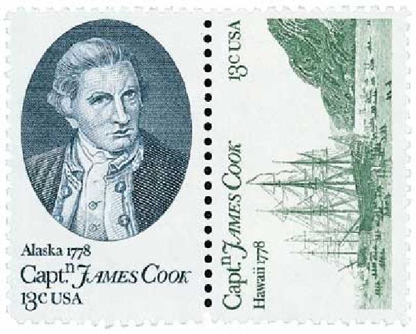 1978 13c Captain Cook