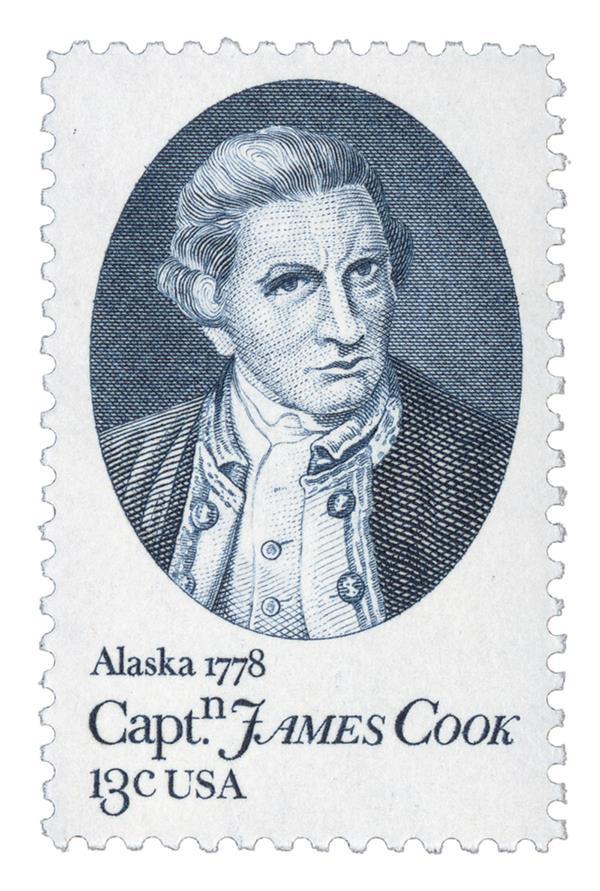 1978 13c Captain Cook Bicentennial, Alaska