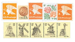 1978-80 Definitives, set of 10 stamps