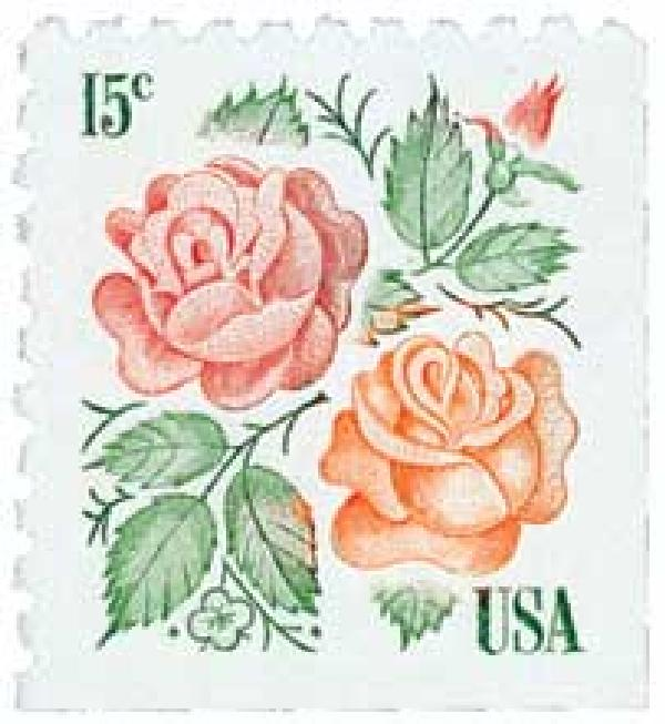 1978 Medallion Roses, 15c{from booklet}