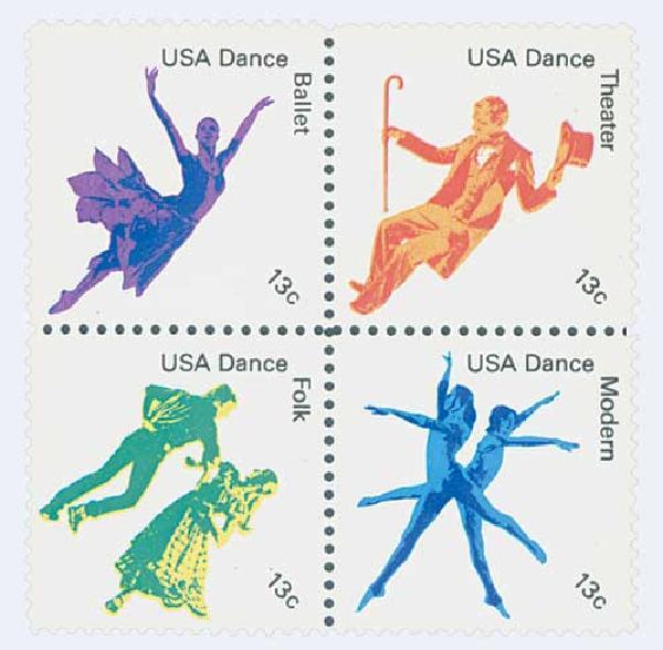 1978 13c American Dance